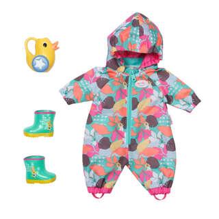 Набор одежды для куклы BABY BORN серии 'Deluxe' - ВЕСЕЛАЯ ПРОГУЛКА (комбинезон, сапожки, леечка)