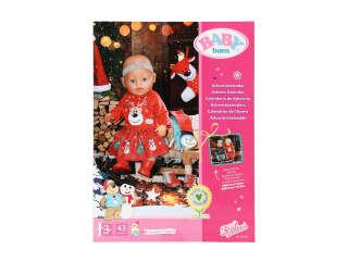 Набор одежды и аксессуаров для куклы BABY BORN - АДВЕНТ-КАЛЕНДАРЬ (24 элемента)