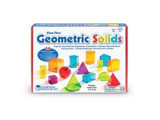 Обучающий Игровой Набор Learning Resources – 3D-Геометрия