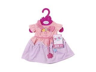 Одежда для куклы BABY BORN - ПРАЗДНИЧНОЕ ПЛАТЬЕ (с кроликом)
