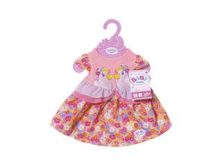 Одежда для куклы BABY BORN - ПРАЗДНИЧНОЕ ПЛАТЬЕ (с уточками)