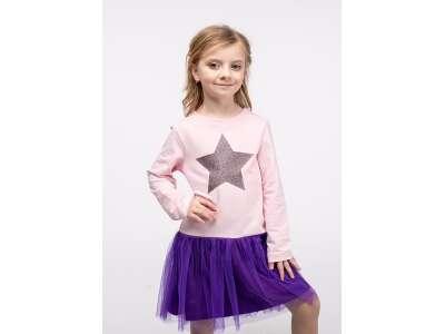 Платье для девочек - G-20853W_розовый