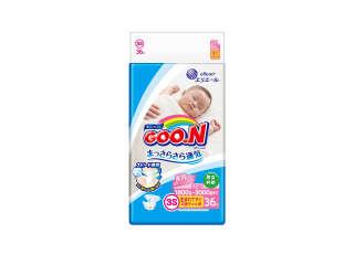 Подгузники Goo.N для маловесных новорожденных коллекция 2019 (SSS, 1,8-3 кг)