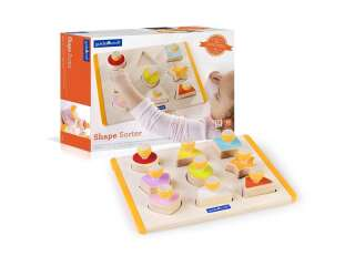 Сортер Guidecraft Manipulatives Формы с ручками (G6742)