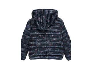 Сверхлегкая двусторонняя куртка с рисунком Brums (201BFAA001-946)